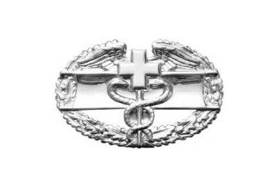 Combat Medical 1St Award Mini Brite Pin On Badge - Insignia Depot