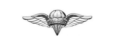 Parachute Rigger Mini PERMA*SHINE Pin On Badge - Insignia Depot