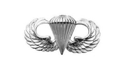 Parachutists Jump Wings Basic Mini Brite Pin On Badge - Insignia Depot