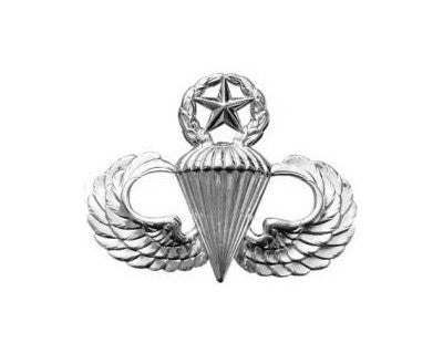 Parachutists Jump Wings Master Mini Brite Pin On Badge - Insignia Depot