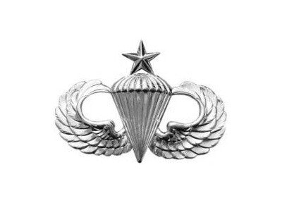 Parachutists Jump Wings Senior Mini Brite Pin On Badge - Insignia Depot