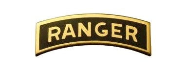 Ranger Mini Brite Pin On Badge - Insignia Depot