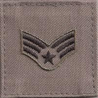 USAF E4 Senior Airman ABU with Hook Fastener - Insignia Depot