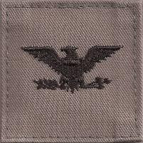 USAF O6 Colonel ABU 2X2 with Hook Fastener - Insignia Depot