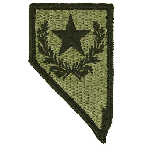 Nevada National Guard OCP Patch with Hook Fastener (pair) - Insignia Depot