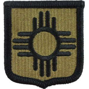 New Mexico National Guard OCP Patch with Hook Fastener (pair) - Insignia Depot