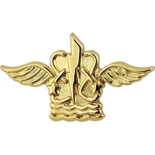 Aviation Operations Technician Navy Collar Device - Insignia Depot