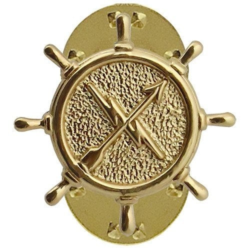 Operations Technician Navy Collar Device - Insignia Depot