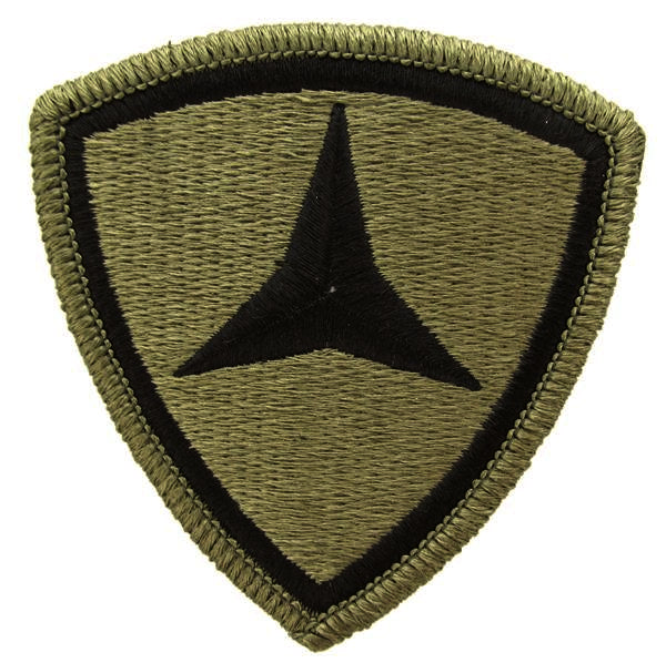 3rd Marine Division OCP Patch with Hook Fastener (pair) - Insignia Depot