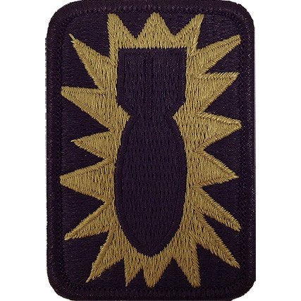 52nd Ordnance group OCP Patch with Hook Fastener (pair) - Insignia Depot