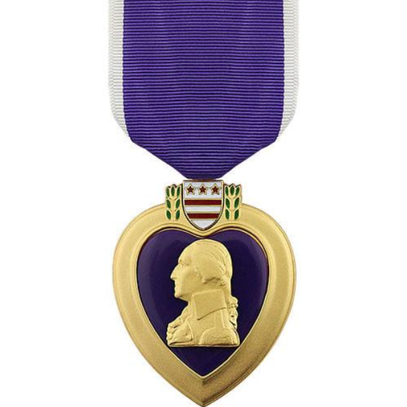 Purple Heart Large Medal - Insignia Depot