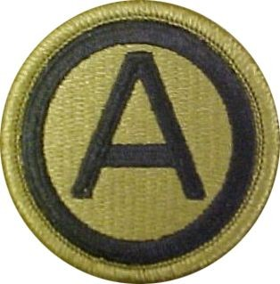 U.S. Army Central (3rd Army) OCP Patch with Hook Fastener (pair) - Insignia Depot
