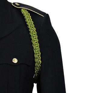 Army Military Police Green and Yellow Shoulder Cord - Insignia Depot