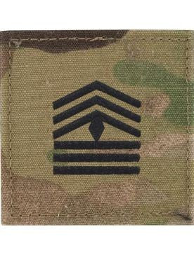 E8-2 ROTC First Sergeant OCP Rank with Hook Fastener - Insignia Depot