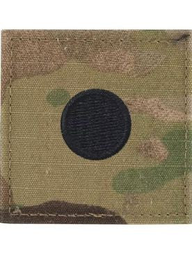 O1 ROTC 2nd Lt. (LARGE DOT) OCP Rank with Hook Fastener - Insignia Depot