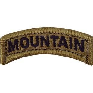 Mountain OCP Tab with Hook Fastener (pair) - Insignia Depot