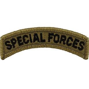 Special Forces OCP Tab with Hook Fastener (pair) - Insignia Depot