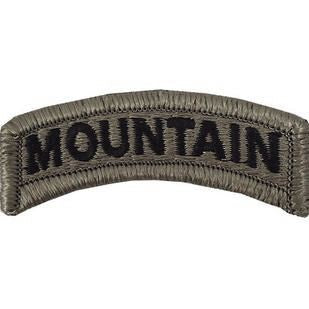 Mountain ACU Tab with Hook Fastener (pair) - Insignia Depot