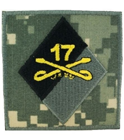 17th Cavalry Helmet ACU Patch - Insignia Depot
