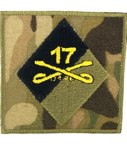 17th Cavalry Helmet OCP Patch - Insignia Depot