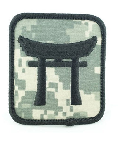187th Rakkasan Helmet ACU Patch - Insignia Depot