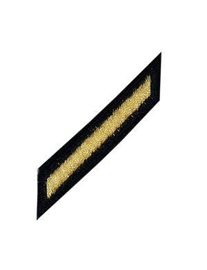 Gold on Blue Female Hashmark - Insignia Depot