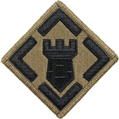 20th Engineer And Airborne Tab OCP Patch with Hook Fastener (pair) - Insignia Depot