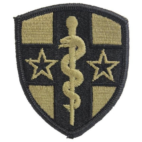 Army Reserve Medical Command OCP Patch with Hook Fastener (pair) - Insignia Depot