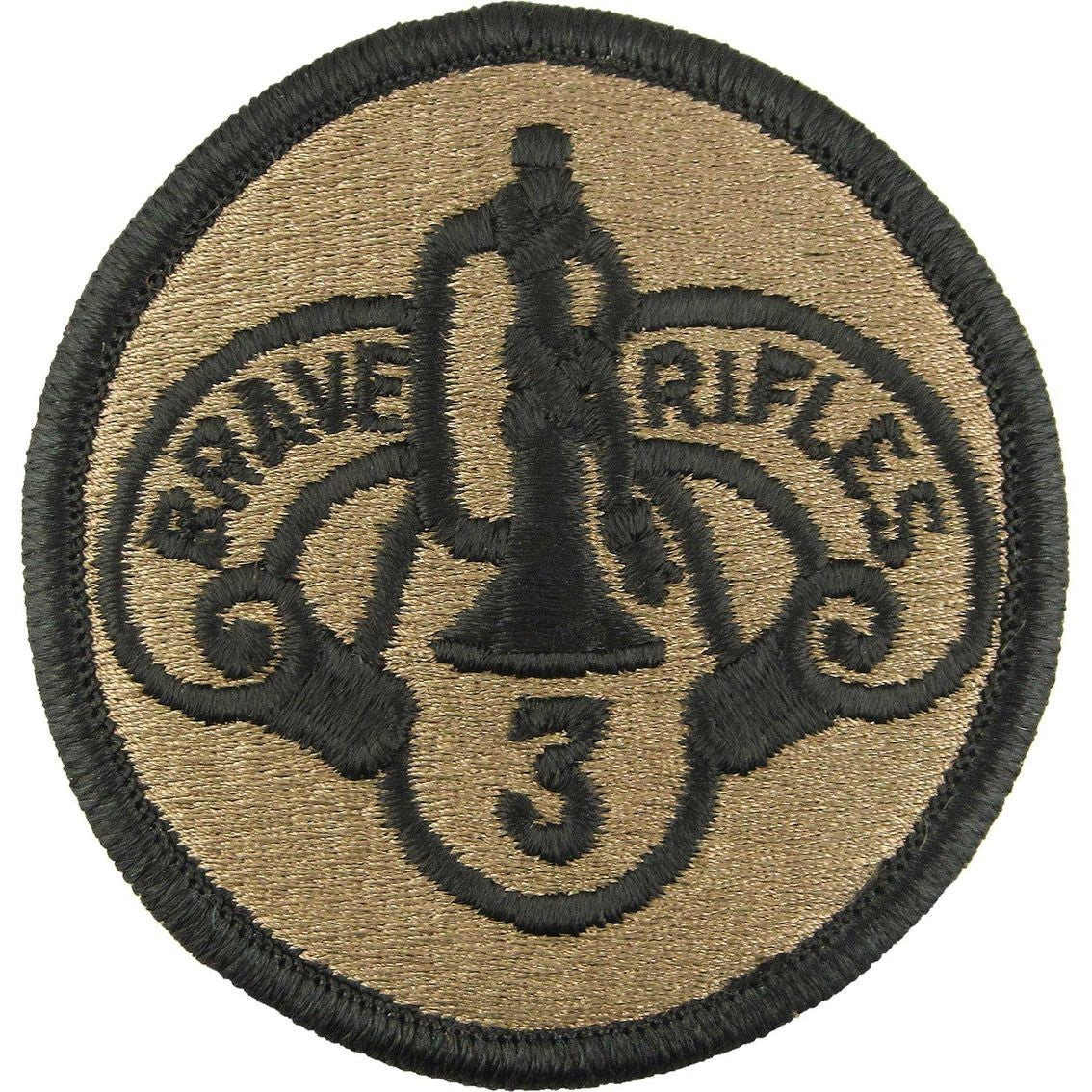 3rd Armored Cavalry Regiment OCP Patch with Hook Fastener (pair) - Insignia Depot