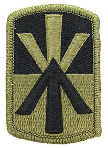 11th Air Defense Artillery OCP Patch with Hook Fastener (pair) - Insignia Depot