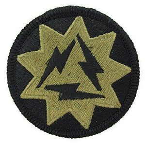 93rd Signal Brigade OCP Patch with Hook Fastener (pair) - Insignia Depot