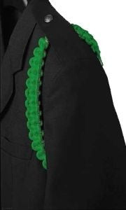 ROTC Kelly Green Shoulder Cord - Insignia Depot
