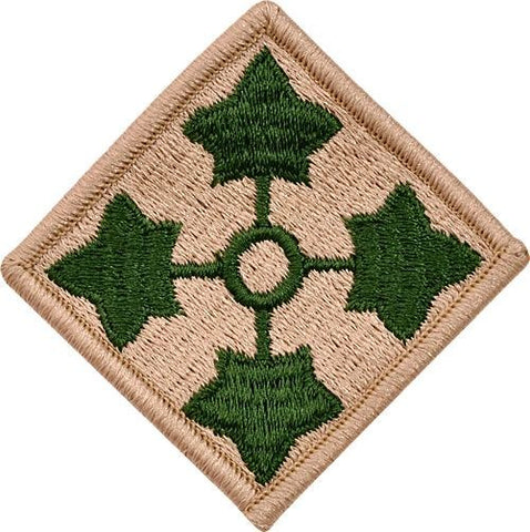 4th Infantry Color Sew-on Patch - Insignia Depot
