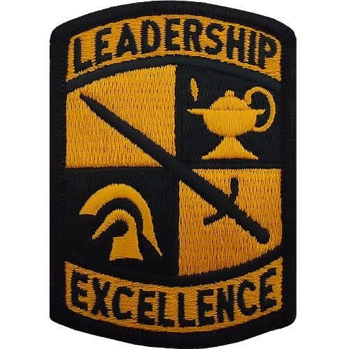 Leadership Excellence ROTC Color Sew-on Patch - Insignia Depot
