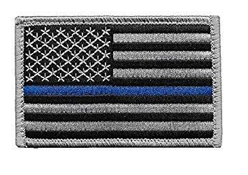 Tactical Law Enforcement U.S. Flag With Hook Fastener - Insignia Depot