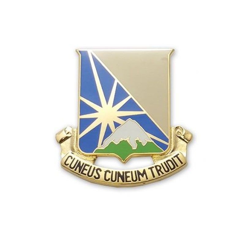 129th Support Battalion Unit Crest (Each) - Insignia Depot