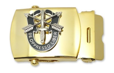 Special Forces Unit Crest Belt Buckle - Insignia Depot