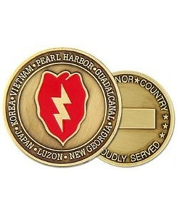 25th Infantry Division Coin - Insignia Depot