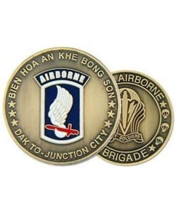 173rd Airborne Division Challenge Coin - Insignia Depot