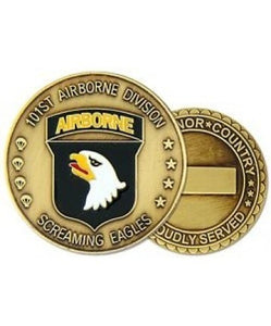 101st Airborne Division Challenge Coin - Insignia Depot