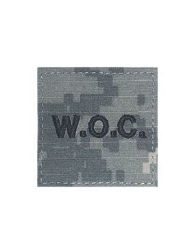WOC Warrant Officer Candidate Black ACU with Hook Fastener - Insignia Depot