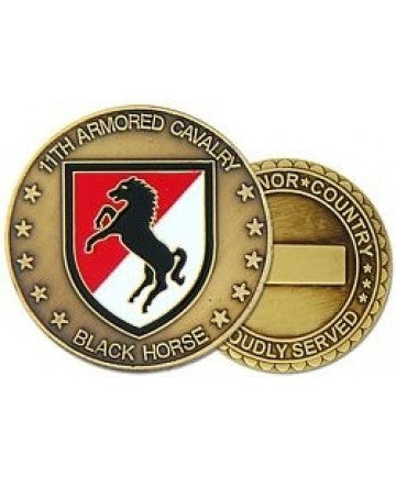 11th Armored Cavalry Regiment Challenge Coin - Insignia Depot