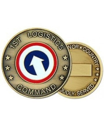 1st Logistic Command Challenge Coin - Insignia Depot