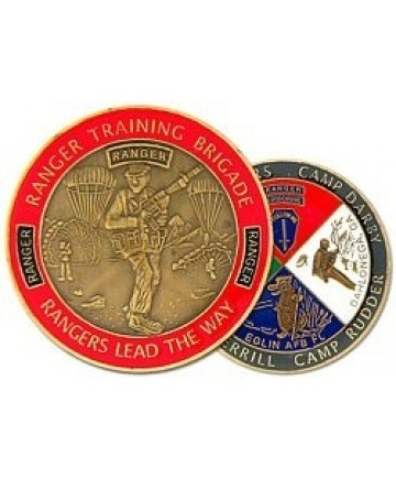 Ranger Training Brigade Challenge Coin - Insignia Depot