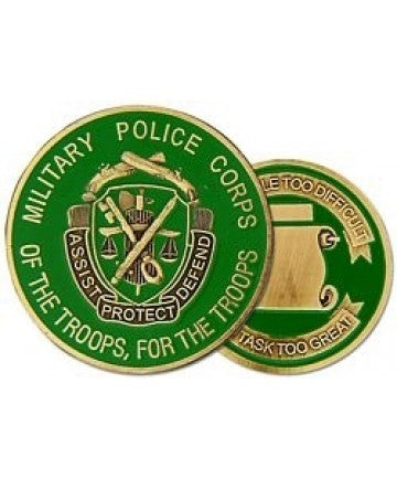 Military Police (MP) Challenge Coin - Insignia Depot