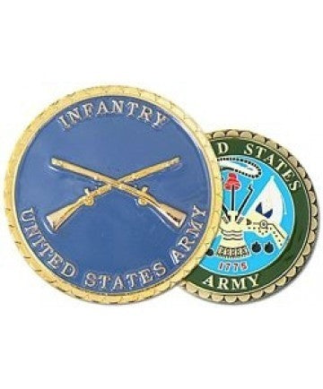 United States Army Infantry Challenge Coin - Insignia Depot