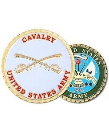 United States Army Cavalry Challenge Coin - Insignia Depot