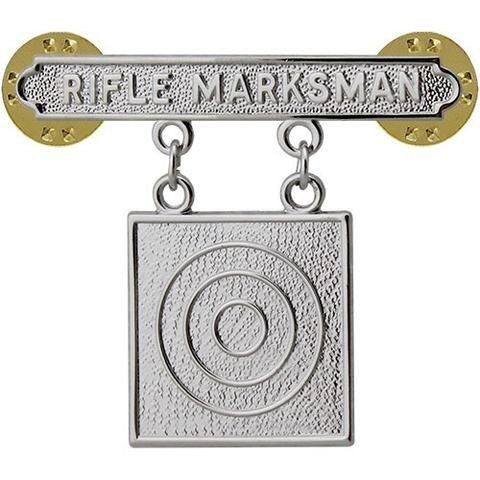 USMC Rifle Marksman Badge - Insignia Depot