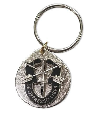 Special Forces Crest Key Chain - Insignia Depot