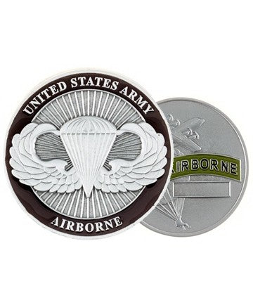 Army Airborne Challenge Coin - Insignia Depot